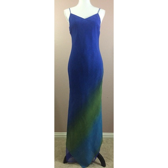 Joseph Ribkoff Dresses | Asymmetrical Low Back Maxi Dress | Poshmark